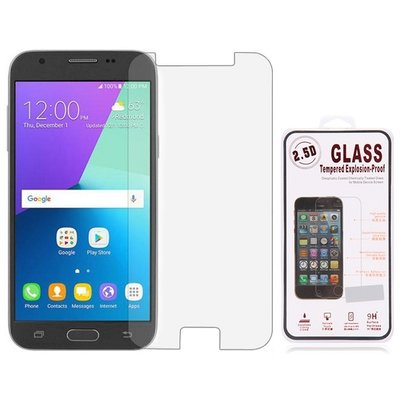 Samsung Galaxy J7 (2017) screenprotector, tempered glass (glazen screenprotector)