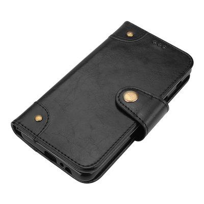 Samsung Galaxy A8 (2018) hoesje, 3-in-1 bookcase, zwart