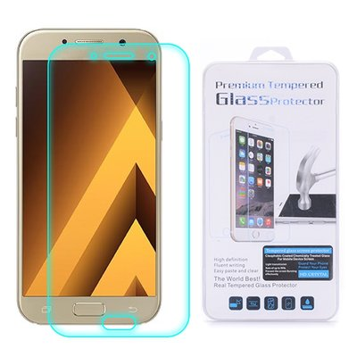 Samsung Galaxy A5 (2017) screenprotector, tempered glass (glazen screenprotector)