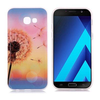 Samsung Galaxy A3 (2017) hoesje, gel case met print, paardenbloem