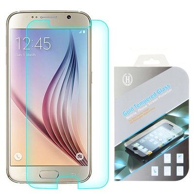 Samsung Galaxy S6 screenprotector, tempered glass (glazen screenprotector)