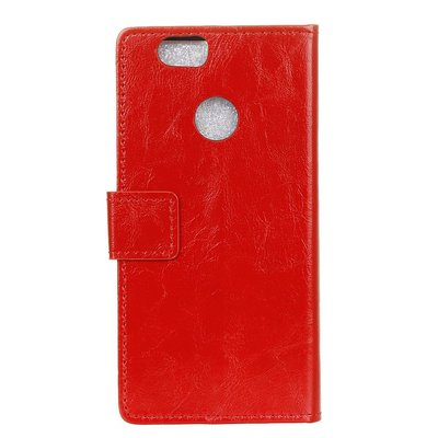 Huawei P Smart hoesje, 3-in-1 bookcase, rood
