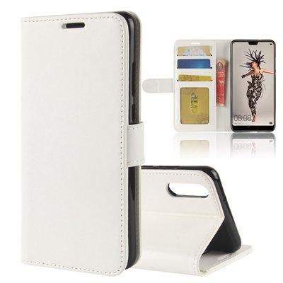 Huawei P20 hoesje, 3-in-1 bookcase, wit