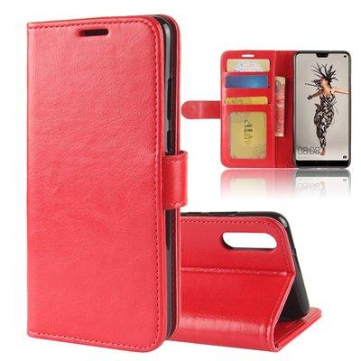 Huawei P20 hoesje, 3-in-1 bookcase, rood