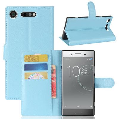Sony Xperia XZ1 hoesje, 3-in-1 bookcase, blauw