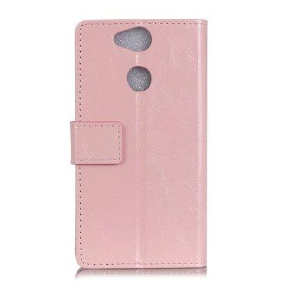 Sony Xperia XA2 hoesje, 3-in-1 bookcase, licht roze