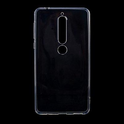 Nokia 6.1 (2018) hoesje, gel case, doorzichtig