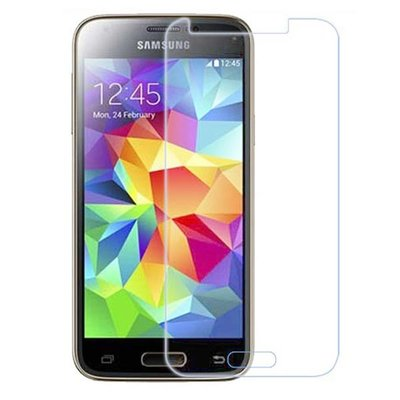 Samsung Galaxy S5 Mini screenprotector, tempered glass (glazen screenprotector)