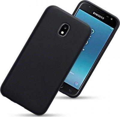 Samsung Galaxy J3 (2017) hoesje, gel case, mat zwart