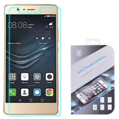 Huawei P9 Lite screenprotector, tempered glass (glazen screenprotector)