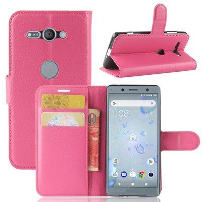 Sony Xperia XZ2 Compact hoesje, 3-in-1 bookcase, roze