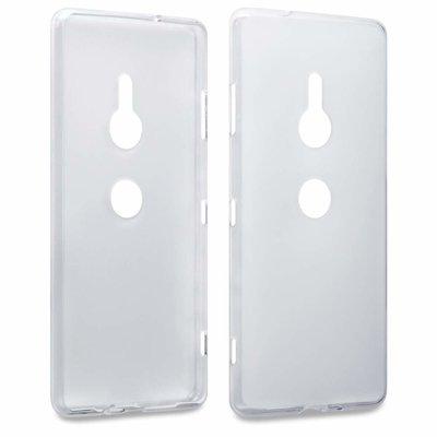 Sony Xperia XZ3 hoesje, gel case, doorzichtig