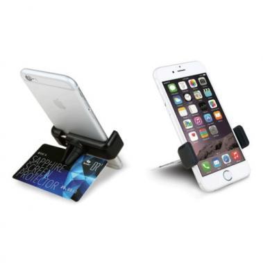 Smartphonehouder, Zwart, Voor in het ventilatierooster in de auto
