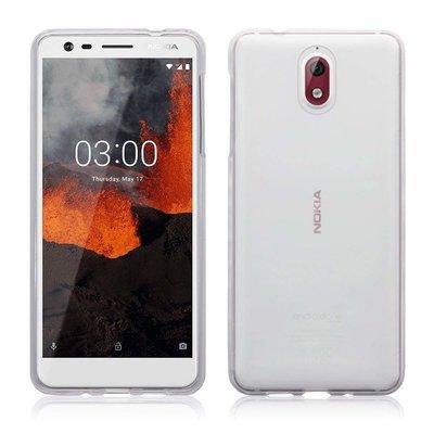 Nokia 3.1 (2018) hoesje, gel case, doorzichtig