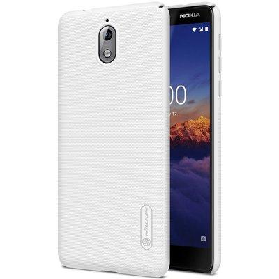 Nokia 3.1 (2018) hoesje, Nillkin frosted shield case, wit