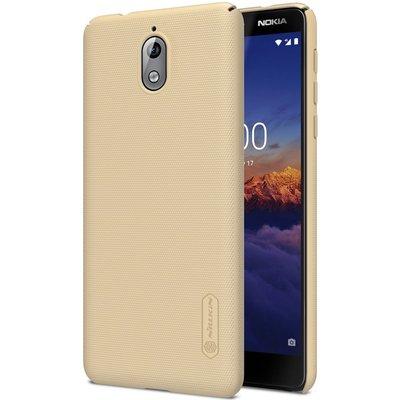 Nokia 3.1 (2018) hoesje, Nillkin frosted shield case, goud