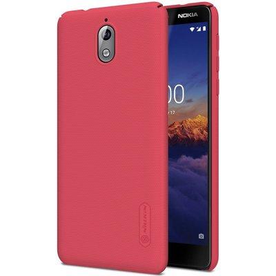 Nokia 3.1 (2018) hoesje, Nillkin frosted shield case, roze