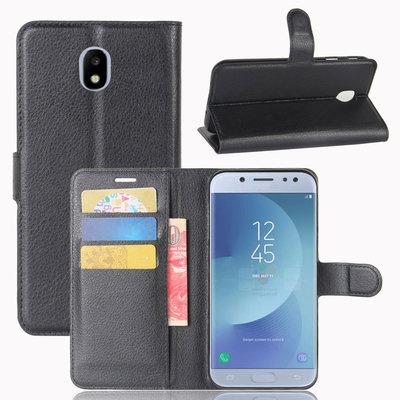 Samsung Galaxy J3 (2017) hoesje, 3-in-1 bookcase, zwart