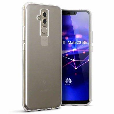 Huawei Mate 20 Lite hoesje, gel case, doorzichtig