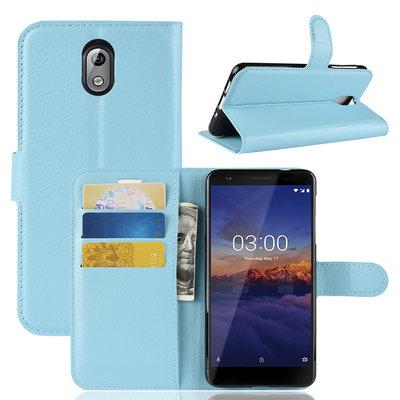 Nokia 3.1 (2018) hoesje, 3-in-1 bookcase, blauw