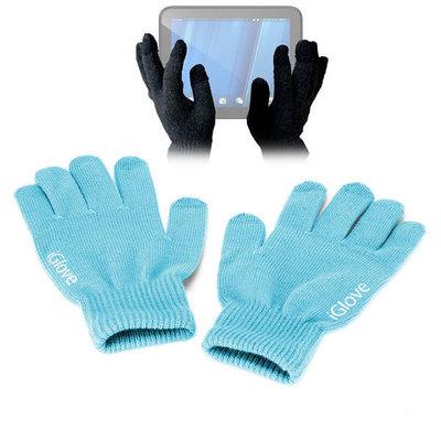 iGlove Touchscreen handschoenen, Licht blauw