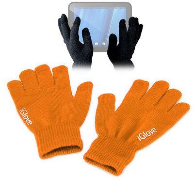 iGlove Touchscreen handschoenen, Oranje