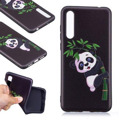 Huawei P20 Pro hoesje, gel case met print, panda