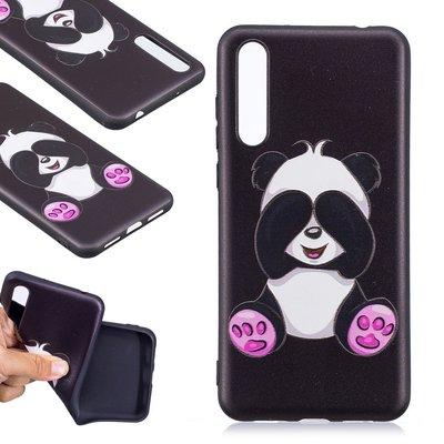Huawei P20 Pro hoesje, gel case met print, zittende panda