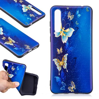 Huawei P20 Pro hoesje, gel case met print, vlinders