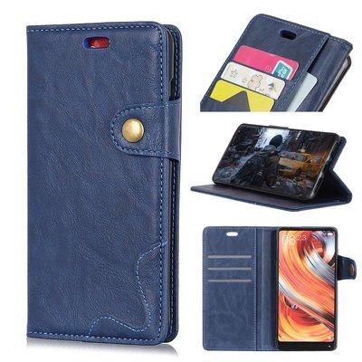 Sony Xperia XZ3 hoesje, 3-in-1 bookcase, blauw