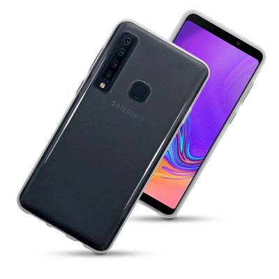 Samsung Galaxy A9 (2018) hoesje, gel case, doorzichtig