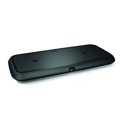 ZENS, Draadloze oplader voor 2 toestellen, Ultra fast 15W, Zwart