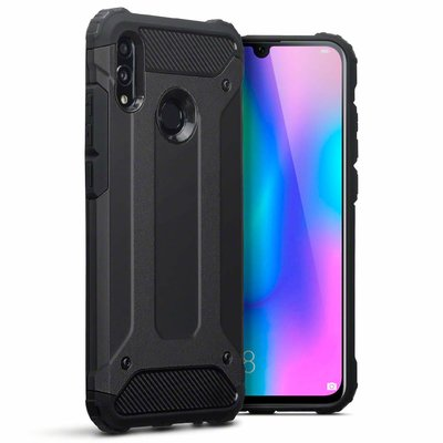 Huawei P Smart (2019) hoesje, tough armor extreme protection case, zwart