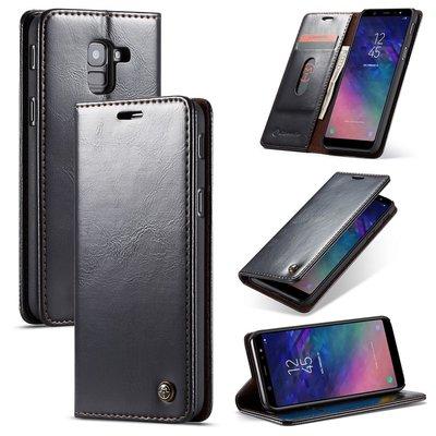 Samsung Galaxy A8 (2018) hoesje, CaseMe bookcase, zwart