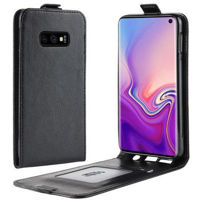 Samsung Galaxy S10E hoesje, flipcase, zwart