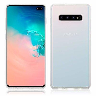 Samsung Galaxy S10 Plus (S10+) hoesje, gel case, volledig doorzichtig