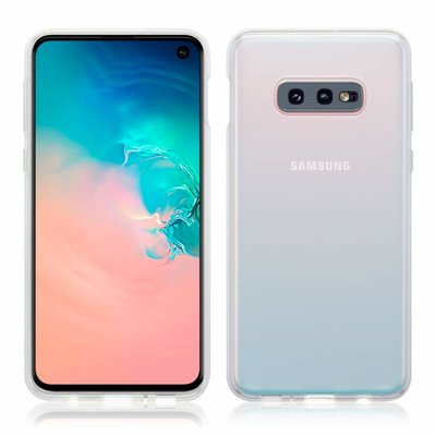 Samsung Galaxy S10E hoesje, gel case, volledig doorzichtig