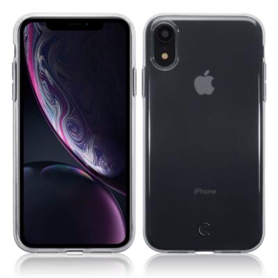 Apple iPhone XR hoesje, gel case, doorzichtig