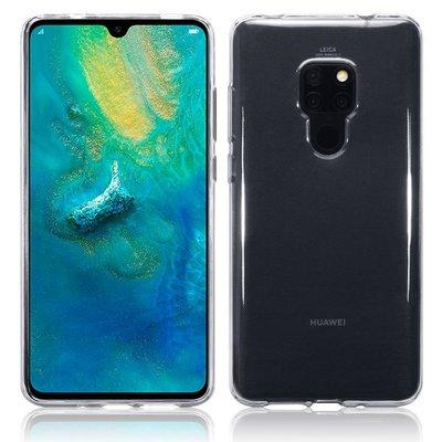 Huawei Mate 20 hoesje, gel case, doorzichtig
