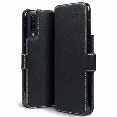 Samsung Galaxy A50 hoesje, 3-in-1 bookcase extra dun, zwart