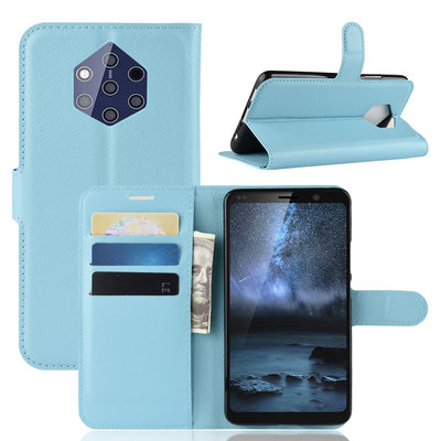 Nokia 9 PureView hoesje, 3-in-1 bookcase, blauw