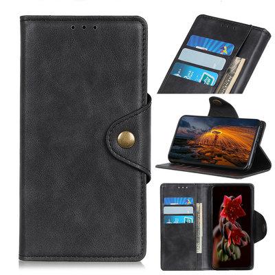 Samsung Galaxy A70 hoesje, 3-in-1 bookcase, zwart