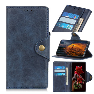 Samsung Galaxy A70 hoesje, 3-in-1 bookcase, blauw