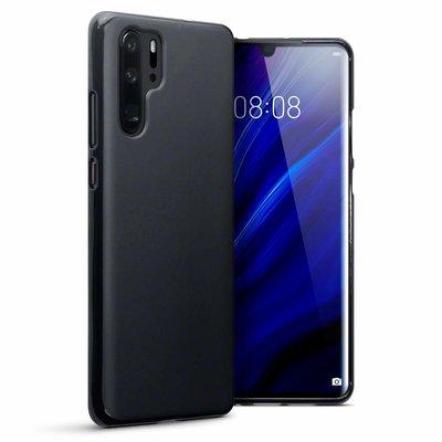 Huawei P30 Pro hoesje, gel case, mat zwart