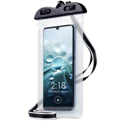 Waterdicht universeel telefoonhoesje, waterproof case, transparant
