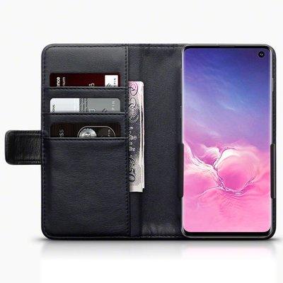 Universeel lederen telefoonhoesje, wallet case voor 5.5 t/m 6.4 inch toestellen