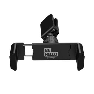 BeHello smartphonehouder, Zwart, Voor in het ventilatierooster in de auto