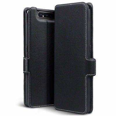 Samsung Galaxy A80 hoesje, 3-in-1 bookcase extra dun, zwart