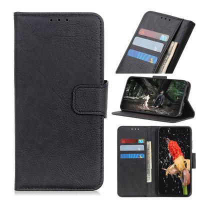 Nokia 4.2 hoesje, 3-in-1 bookcase, zwart