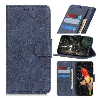 Nokia 4.2 hoesje, 3-in-1 bookcase, blauw